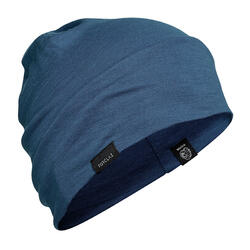 Merino Wool Mountain Trekking Hat - TREK 500 - Blue