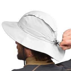 Sombrero Trekking Montaña Forclaz Trek 900 Impermeable Negro