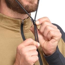 男款防水登山健行帽TREK 900-黑色