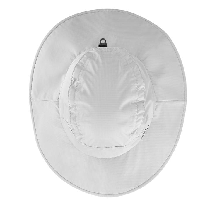 Waterdichte hoed voor bergtrekking Trek 900 lichtgrijs
