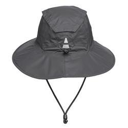 Chapeau de randonnée montagne imperméable | RANDO 900 gris foncé