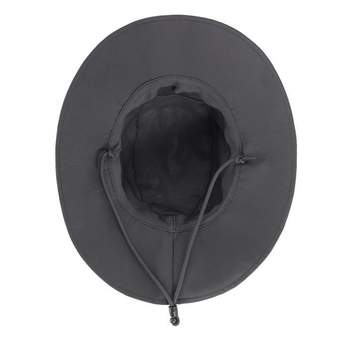 Waterdichte hoed voor bergtrekking Trek 900 donkergrijs