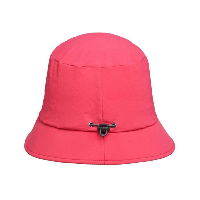 登山健行帽Trek 100-粉紅色