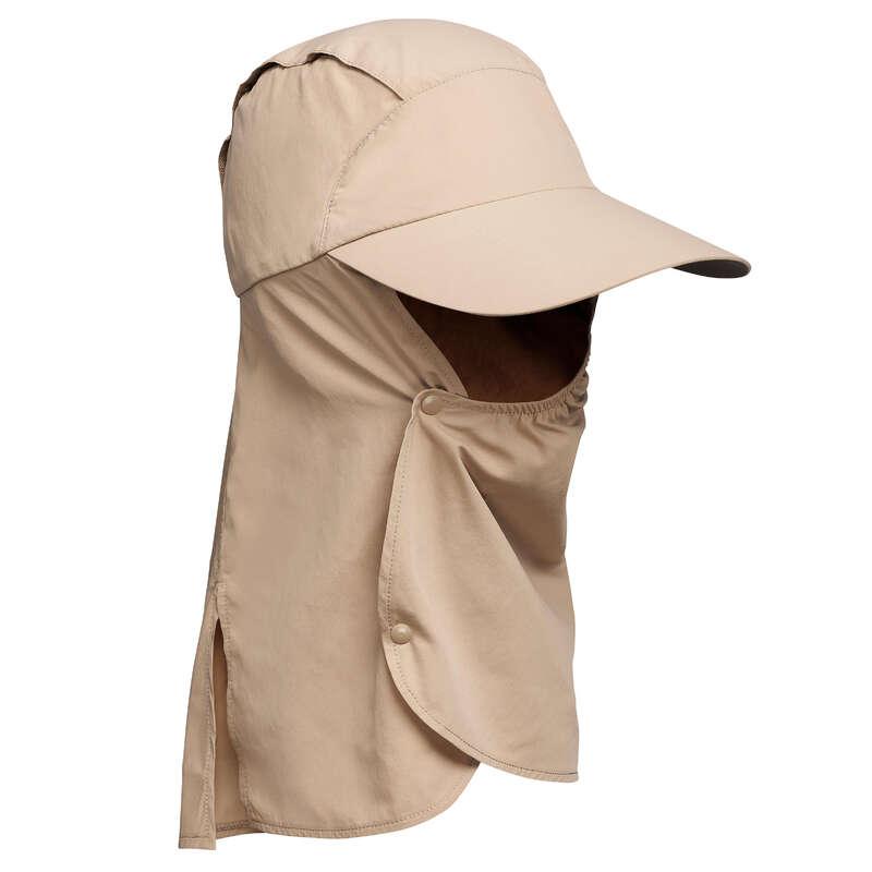 OUTFIT DESERT TREKKING Hiking - CAP DESERT 500 - BROWN FORCLAZ - Hiking Clothes