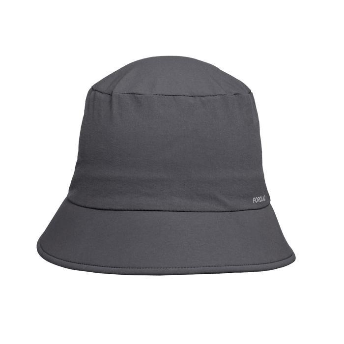 Sombrero Trekking Montaña Forclaz TREK 100 Gris Oscuro