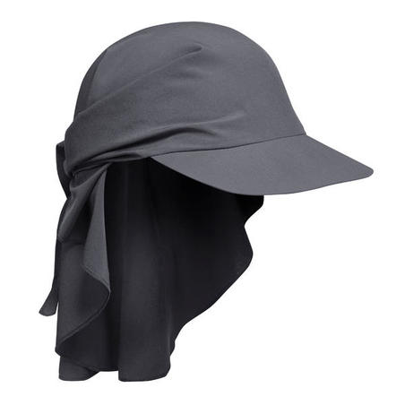 Mountain Trekking Cap - TREK 100 Ultra-compact - Dark Grey