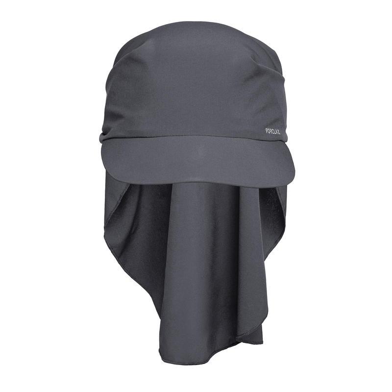Mountain trekking cap - TREK 100 ultra-compact - Dark grey