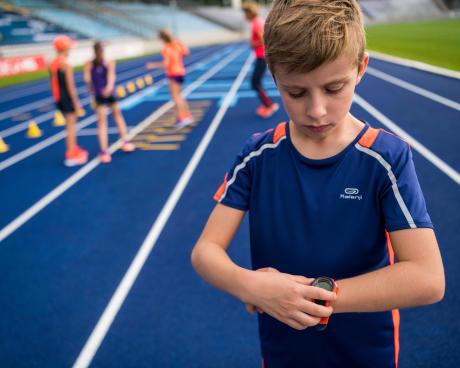 eerste wedstrijd atletiek