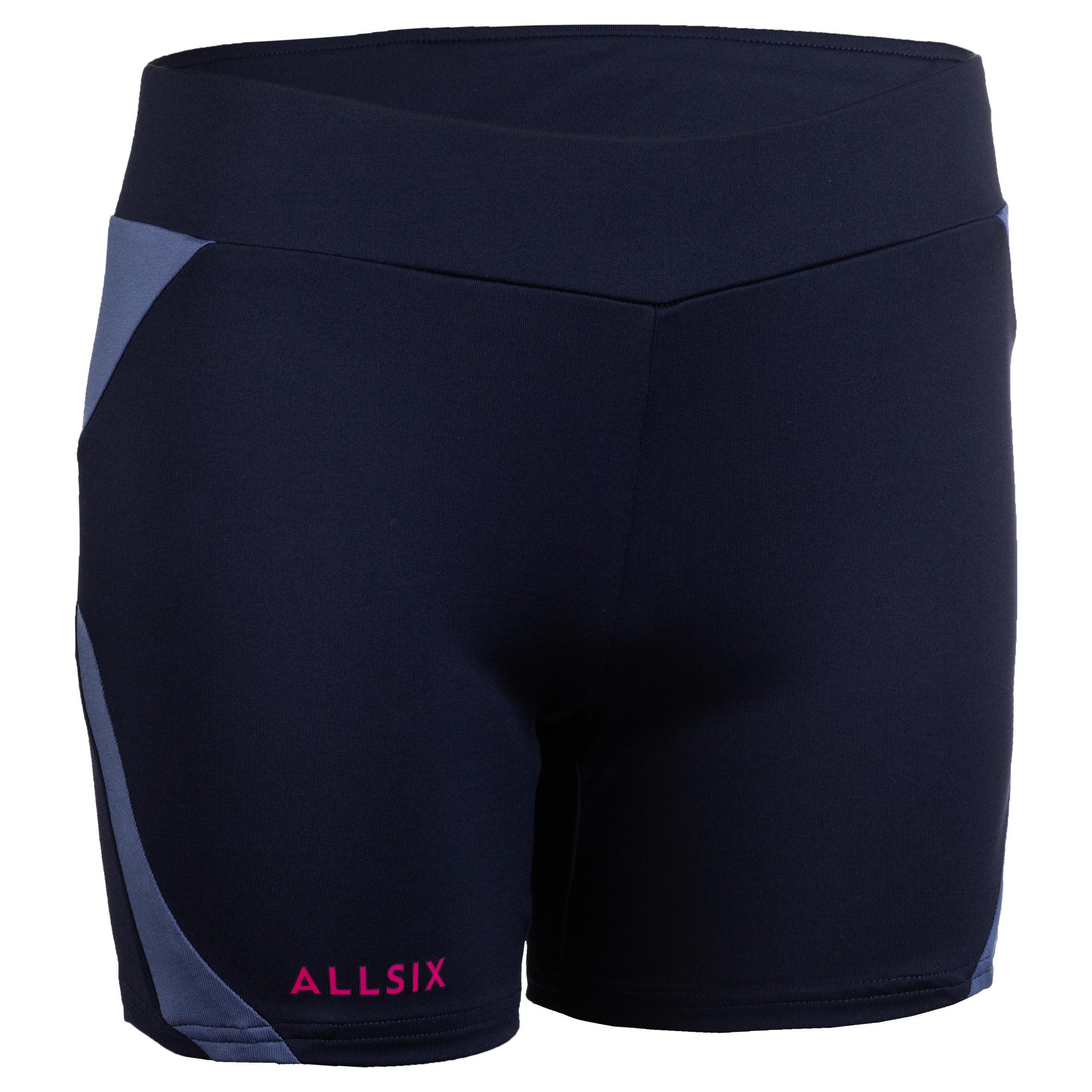 Allsix Volleybalbroekje dames V500 marineblauw