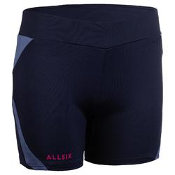 Volleyballshorts V500 Damen marineblau