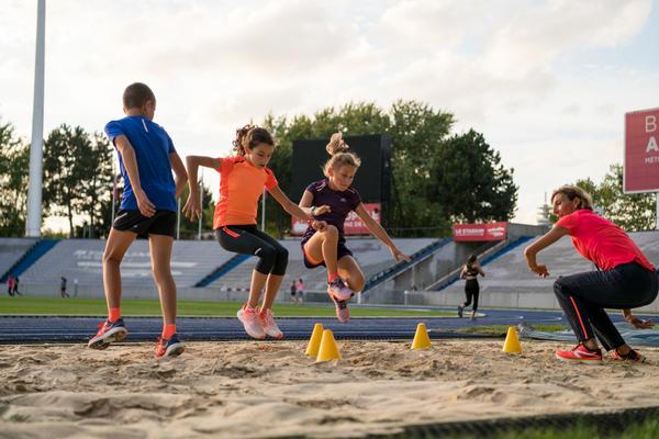 Laufbekleidung Kinder Schulsport Leichtathletik