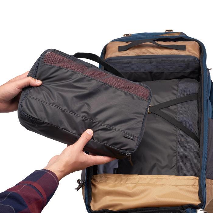 Fundas Guardado Montaña Trekking Viaje Forclaz Kit 3 Unidades