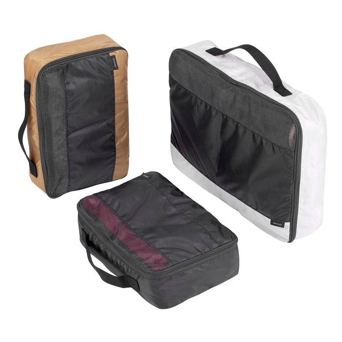 Set of 3 Forclaz Storage Covers to Organise the Contents of your Backpack