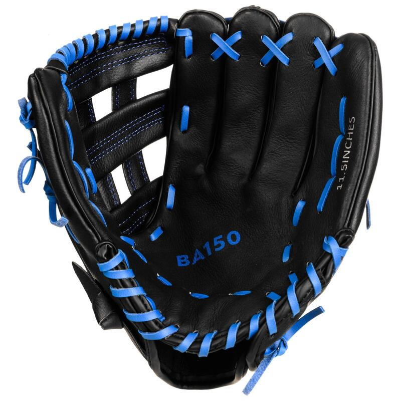 Guante Béisbol Kipsta BA150 Mano Izquierda Azul