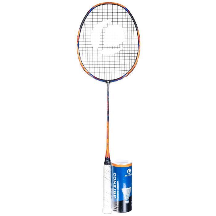 Badmintonschläger BR900P + 3 Federbälle