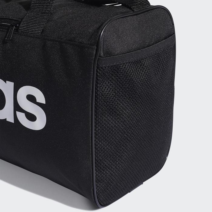 Bolsa de deportes gimnasio Cardio Fitness Adidas Linear XS negro blanco