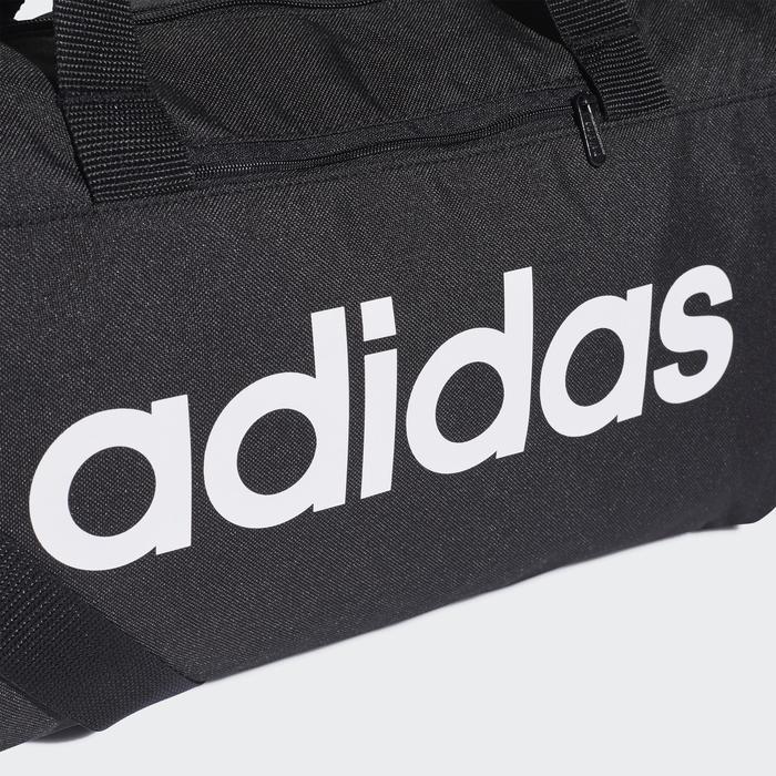 Sporttas fitness Adidas klein, zwart/wit