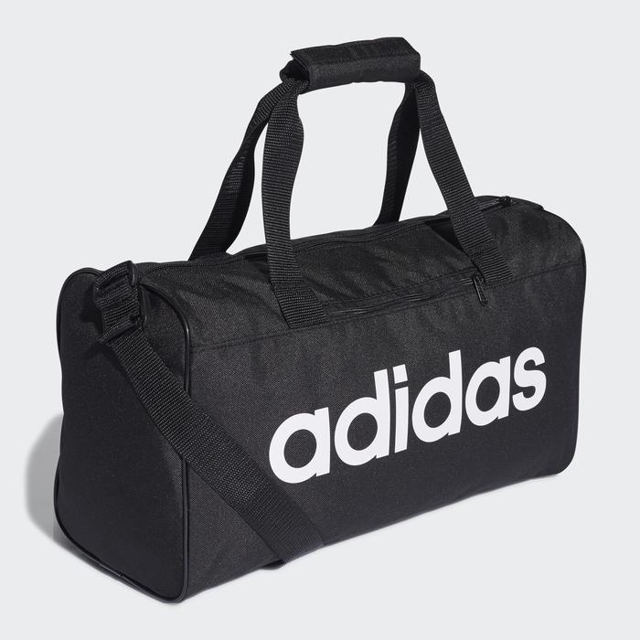 Bolsa de deporte gimnasio Cardio Fitness Adidas Linear XS negro blanco