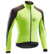 Rumena kolesarska majica z dolgimi rokavi 500