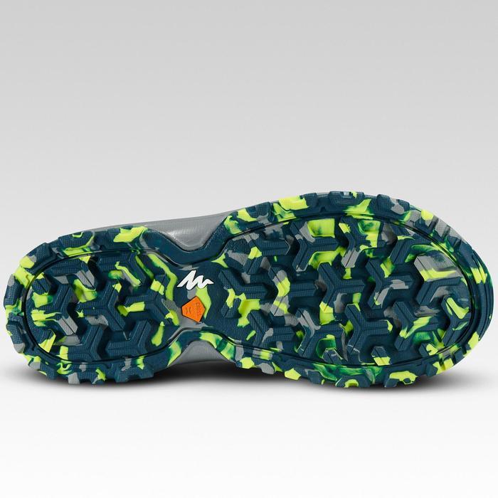 Sandalias de senderismo júnior MH150 JR verde