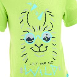 T-shirt de randonnée enfant MH100 vert