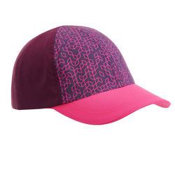 兒童款健行帽MH100-紫色