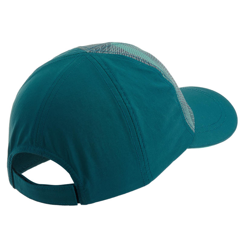 Kids Mountain Hiking Cap MH100 - Green