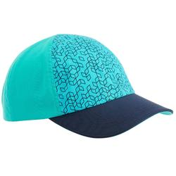 Kids Hiking Cap MH100 - Turquoise
