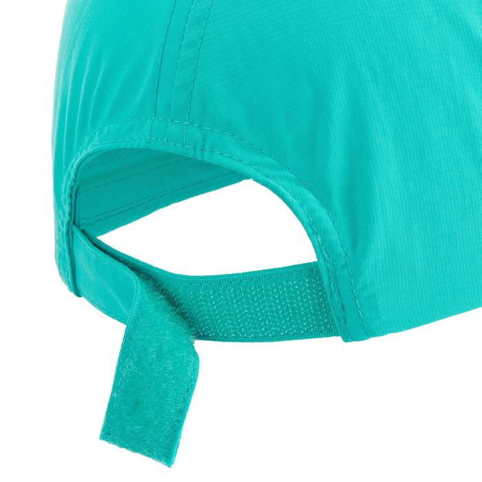 Casquette de randonnée enfant MH100 turquoise