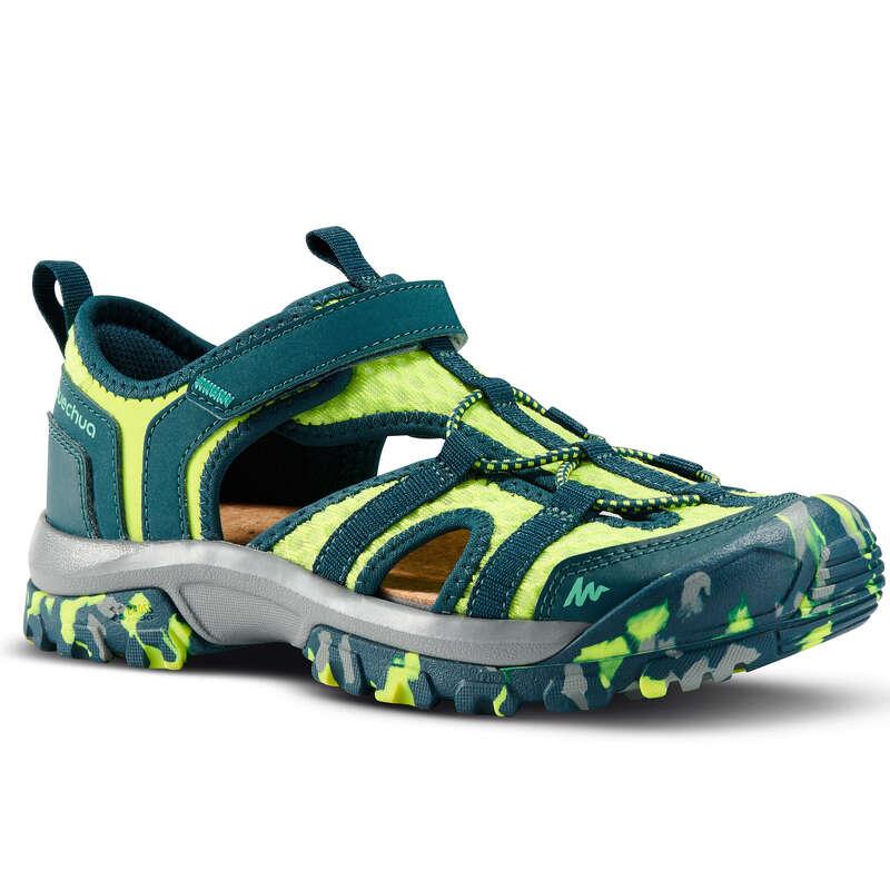 ДЕТСКИ САНДАЛИ ЗА ПРЕХОДИ Обувки - ДЕТСКИ САНДАЛИ MH150 JR QUECHUA - Обувки
