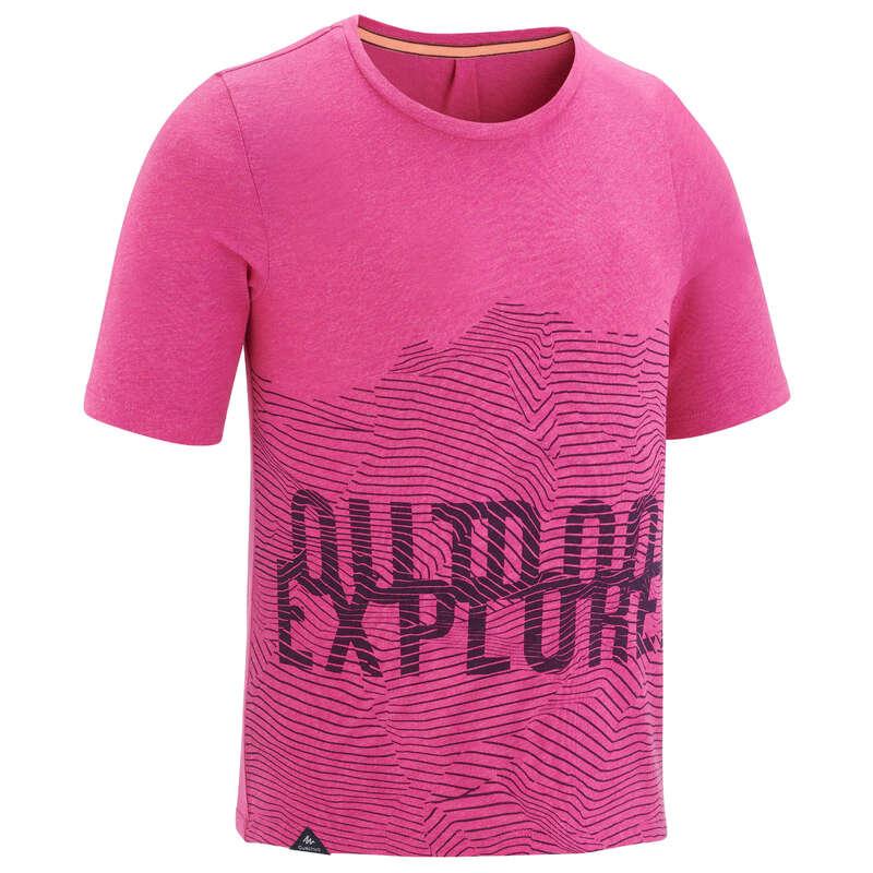 Classe réservée pour FIRST Sport di Montagna - T-Shirt bambina MH100 rosa QUECHUA - Trekking bambino