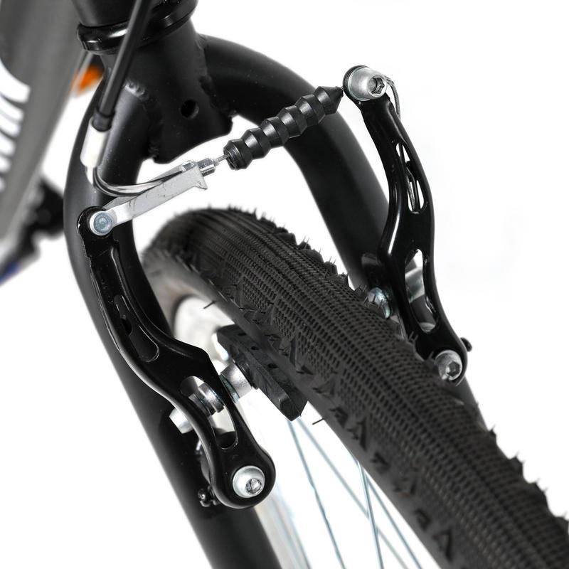 Riverside 100 Hybrid Bike - Matte Black