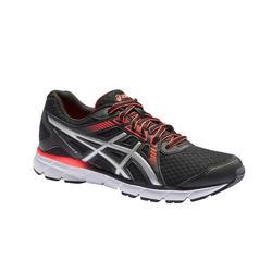 Chaussures de jogging GEL WINDHAWK noire et rose Femme