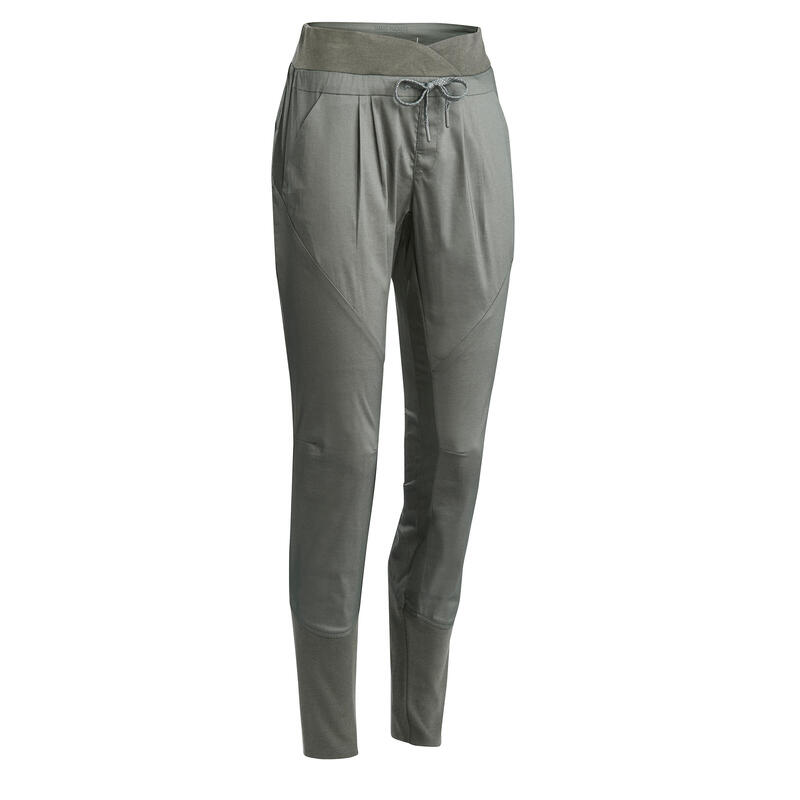 528941618 Women's Hiking Pants NH500 (Slim Fit) - Khaki