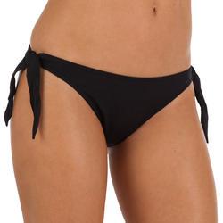 Bikinibroekje Sabi voor surfen, hoog uitgesneden en striksluiting opzij