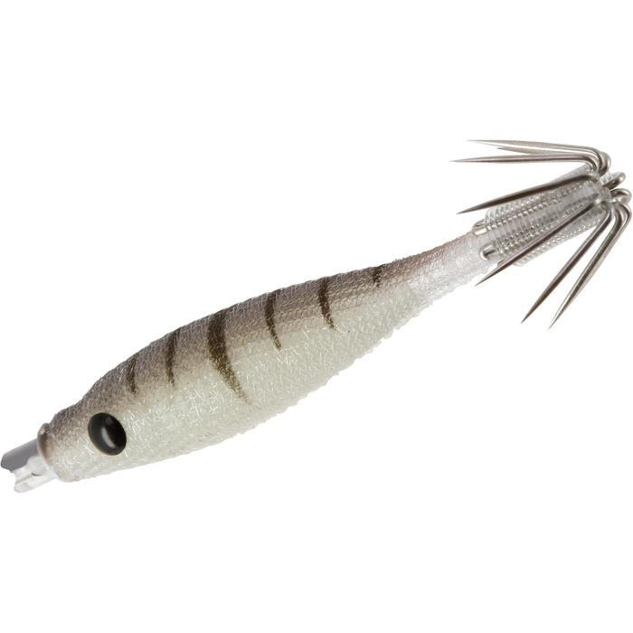 Turlutte EBIKA soft 1.8 50 naturel pêche des seiches/calamars