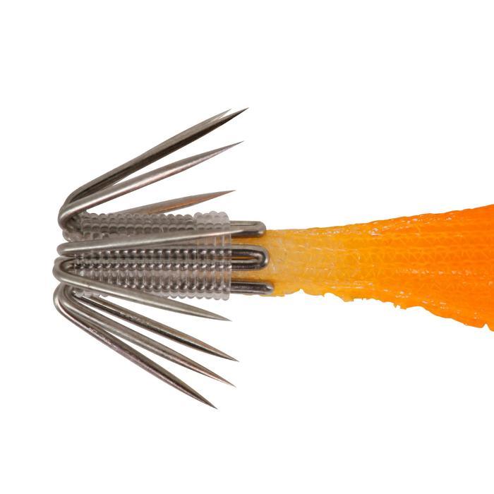 Turlutte EBIKA soft 1.8 50 orange pêche des seiches/calamars
