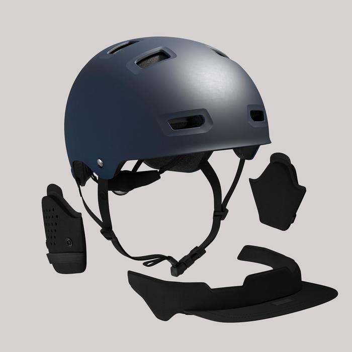 Fahrradhelm City Bol 500 dunkelblau