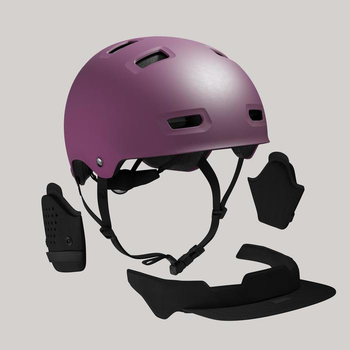 Fahrradhelm City 500 Bol lila