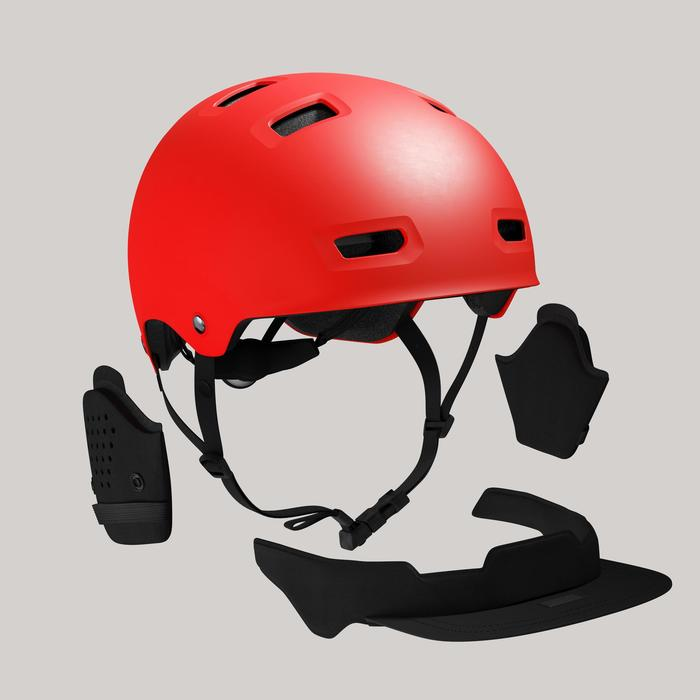 Fahrradhelm City 500 Bol rot
