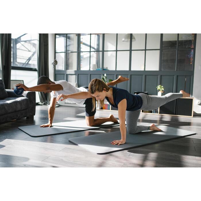 Gymnastikball beschwert Pilates 450g grau