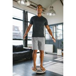 PLANCHE D'EQUILIBRE BALANCE BOARD BOIS /Dimaètre 39,5cm Hauteur 7,5cm