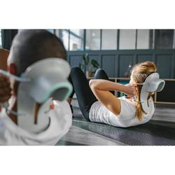 Aparato Abdominales Pilates Domyos 100 Gris Ergonómico Compacto Toning