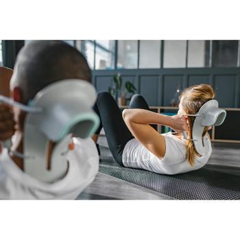 Ergonomische comfortabele buikspiertrainer voor pilates/figuurtraining Abdo 100