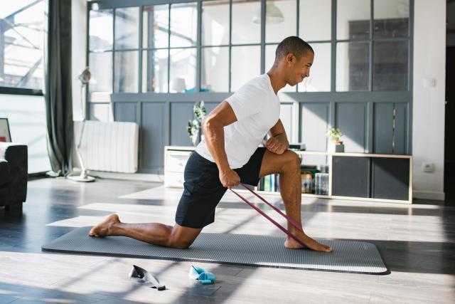 Nouveau bandes de résistance pour gym yoga fitness résistance posture exercice