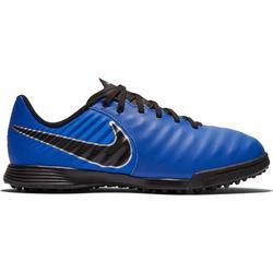Botas Fútbol Nike Hypervenom TF Niño Azul Negro