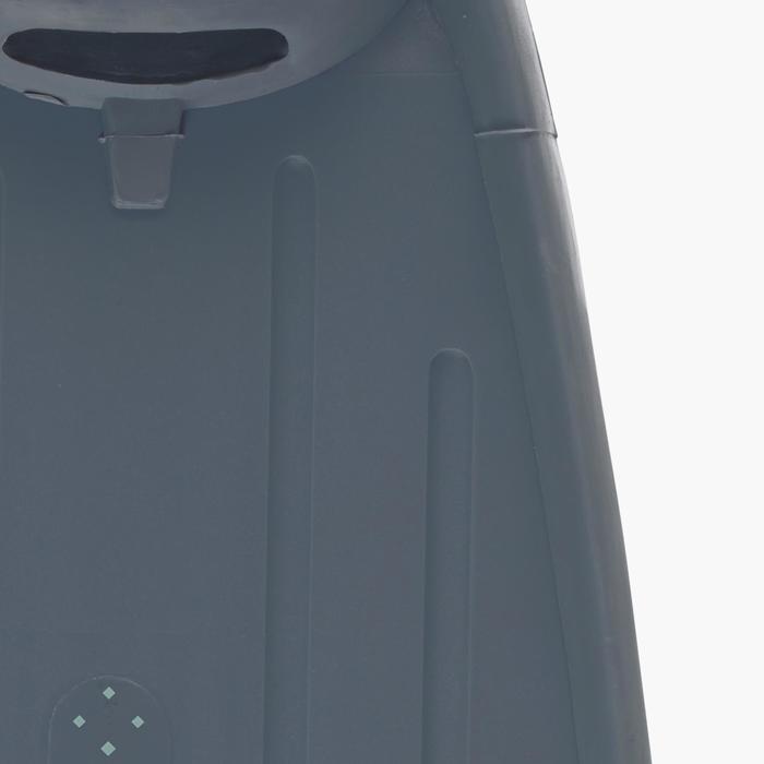 Apnoe-Flossen Freediving FRD 500 sturmgrau