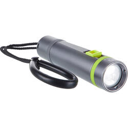 SCD 400 Lumens, 2700 lux rechargeable diving lamp, 2 positions