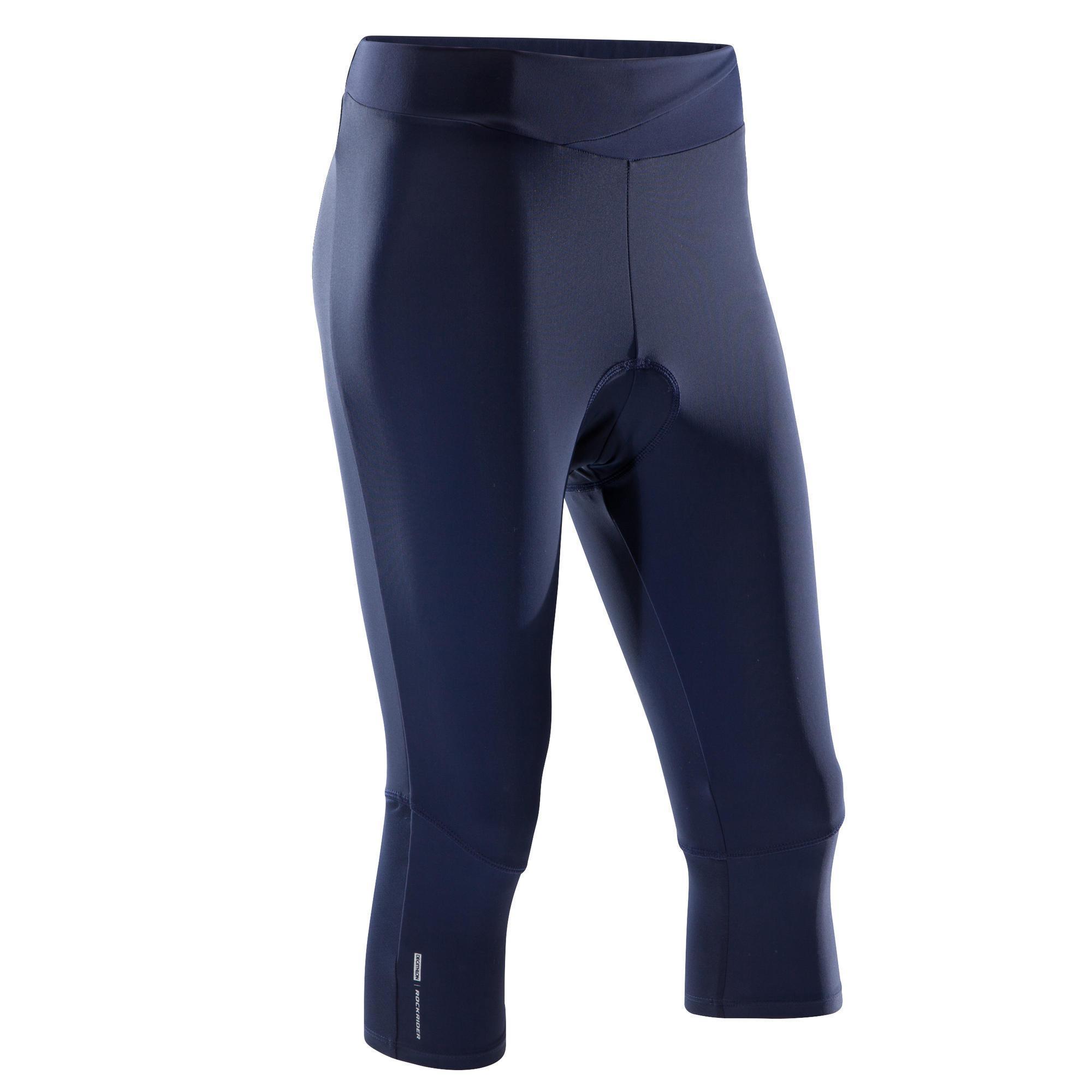 Rockrider MTB-broek ST500 dames marineblauw kopen