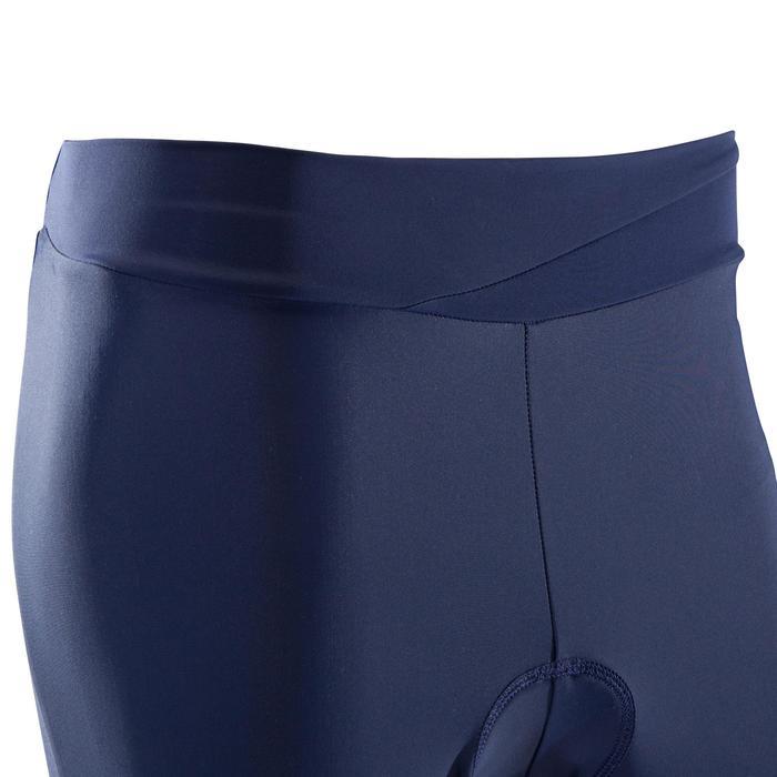 Driekwartbroek MTB ST 500 Dames marineblauw